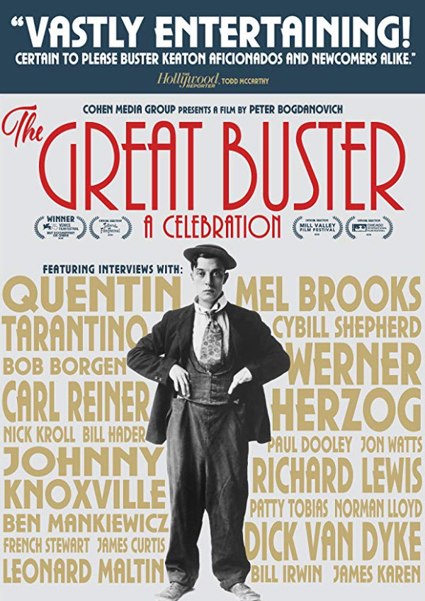 'The Great Buster: A Celebration' movie poster