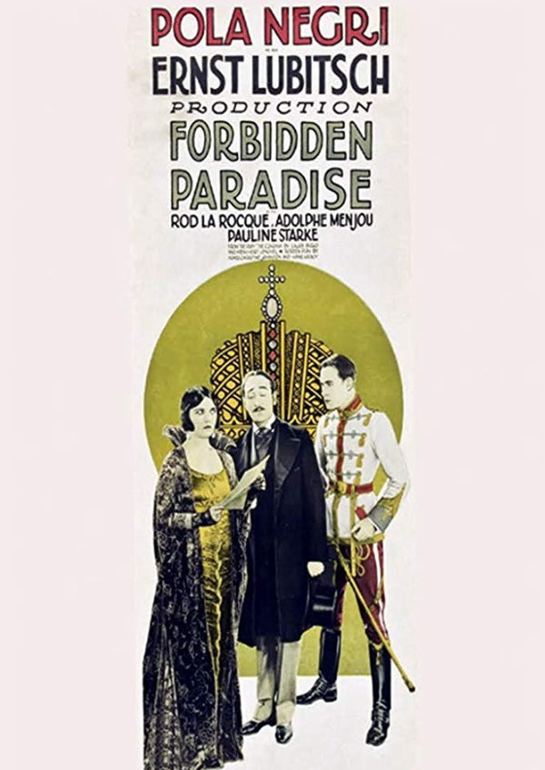 'Forbidden Paradise' movie poster