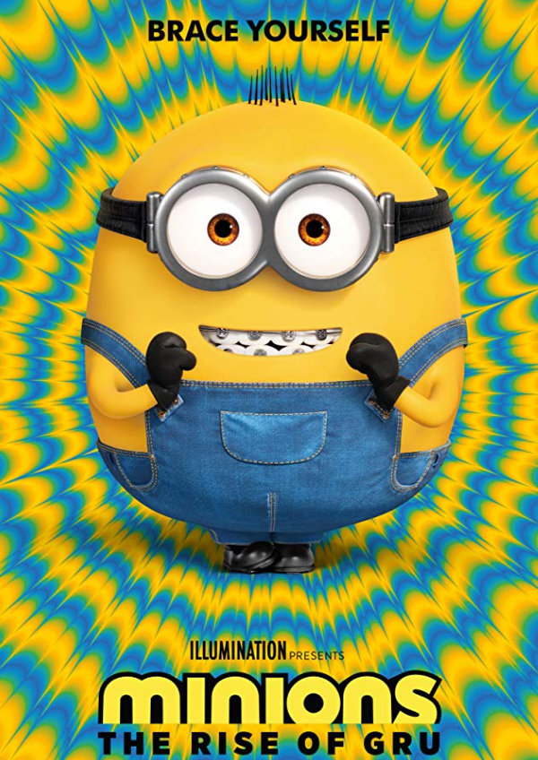 'Minions: The Rise of Gru' movie poster