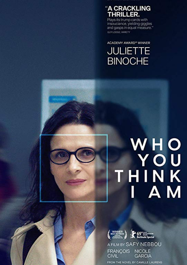 'Who You Think I Am' movie poster
