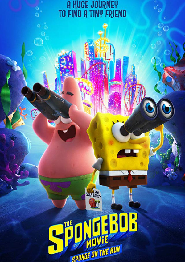 'The SpongeBob Movie: Sponge on the Run' movie poster