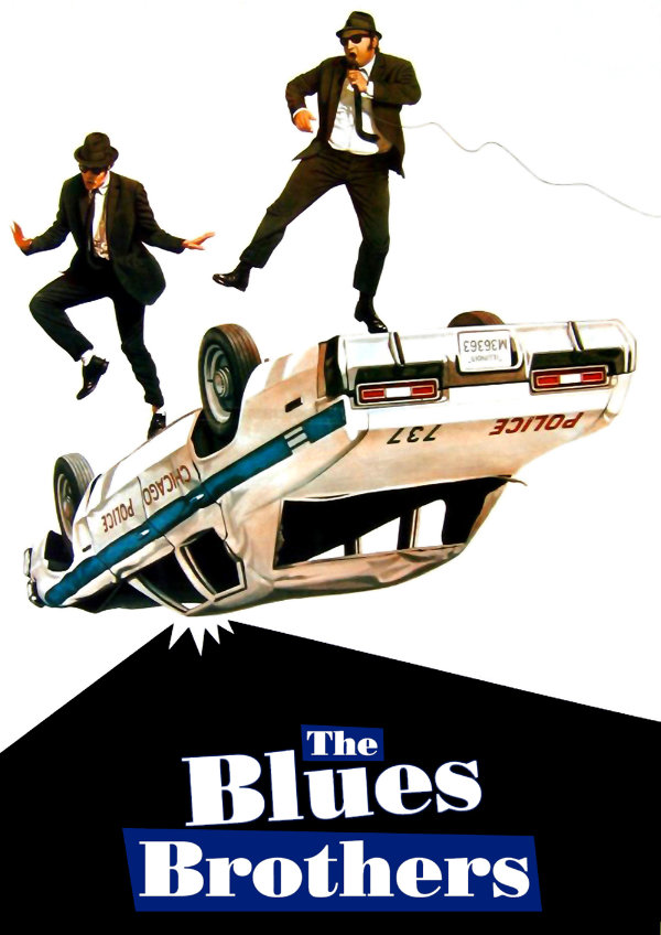 'The Blues Brothers' movie poster