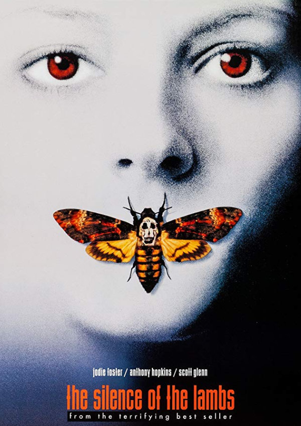 'The Silence of the Lambs' movie poster
