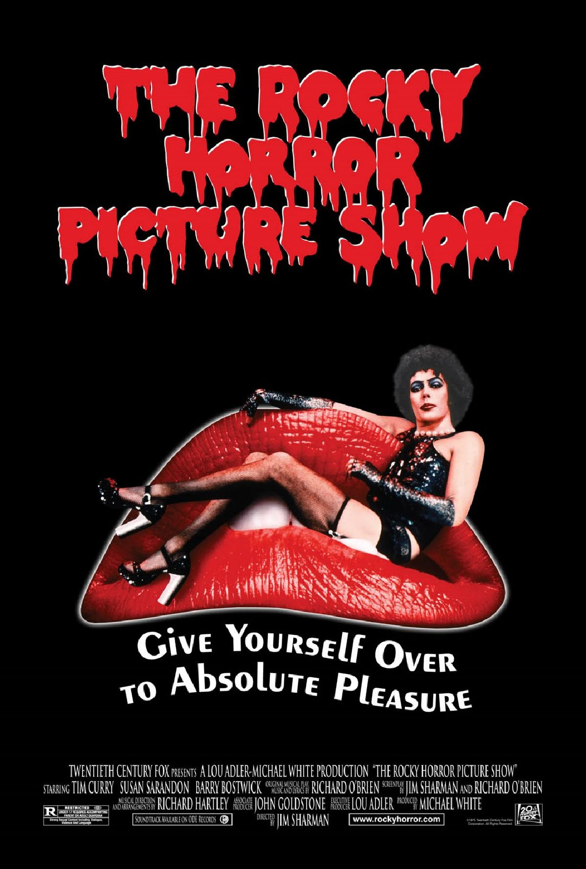 'The Rocky Horror Picture Show' movie poster