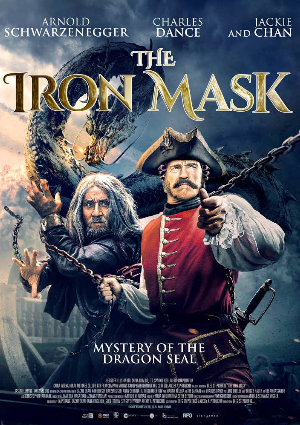 'The Iron Mask' movie poster