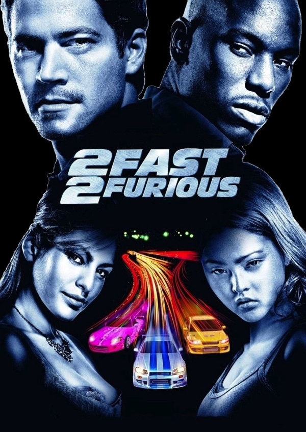'2 Fast 2 Furious' movie poster