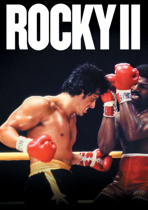 'Rocky II' movie poster