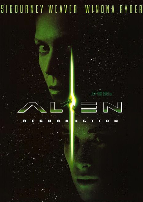 'Alien: Resurrection' movie poster