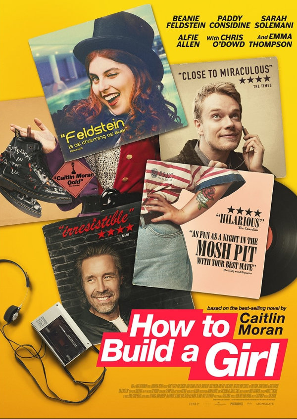 'How To Build A Girl' movie poster