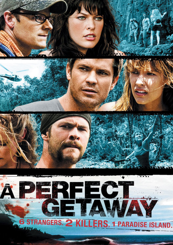 'A Perfect Getaway' movie poster