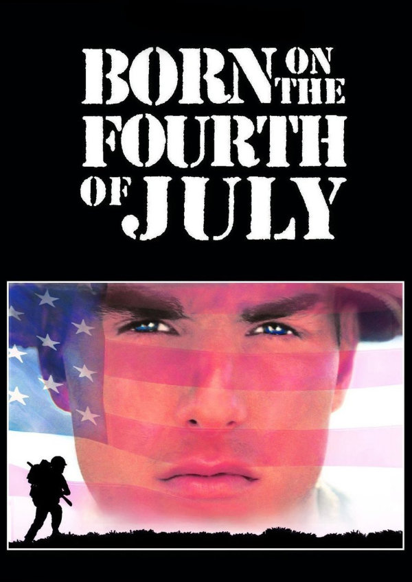 'Born on the Fourth of July' movie poster