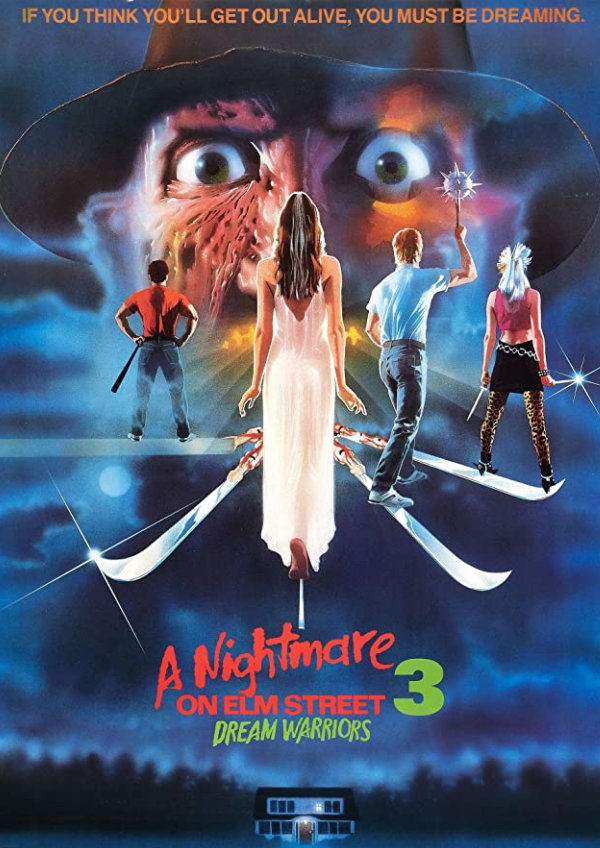 'A Nightmare on Elm Street 3: Dream Warriors' movie poster