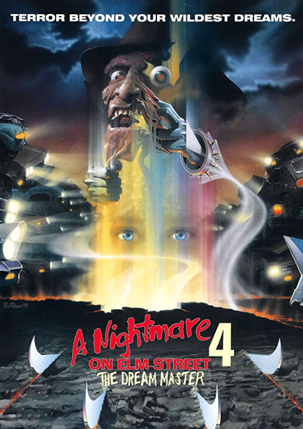 'A Nightmare on Elm Street 4: The Dream Master' movie poster