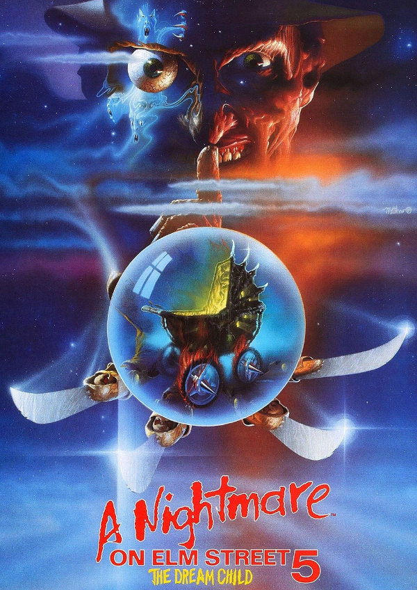 'A Nightmare on Elm Street 5: The Dream Child' movie poster