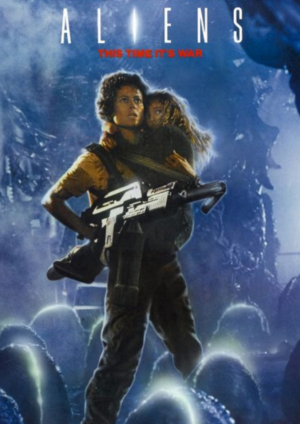 'Aliens' movie poster