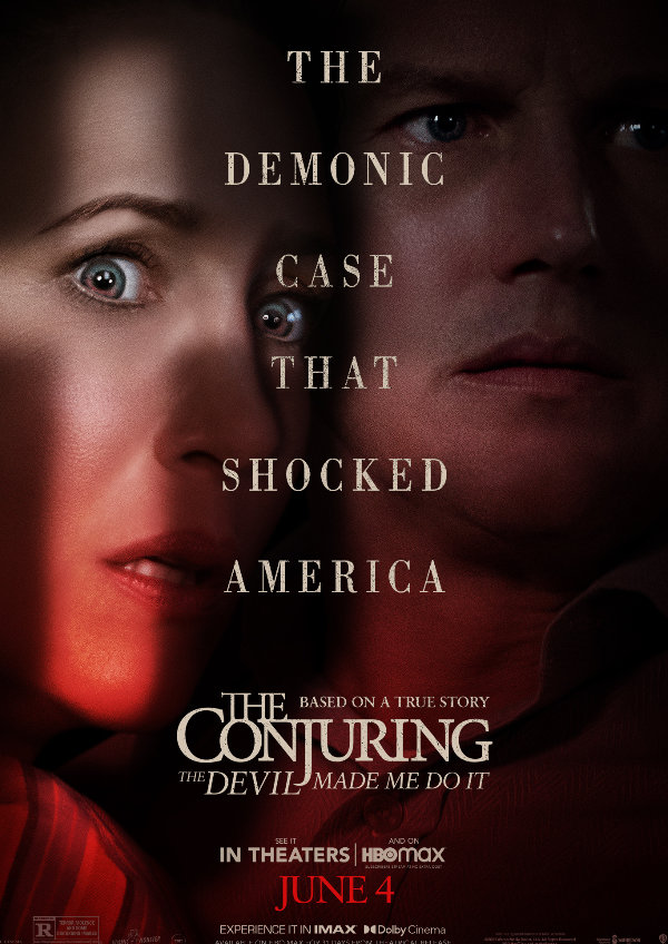 'The Conjuring: The Devil Made Me Do It' movie poster
