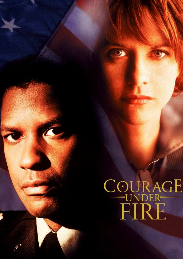 'Courage Under Fire' movie poster