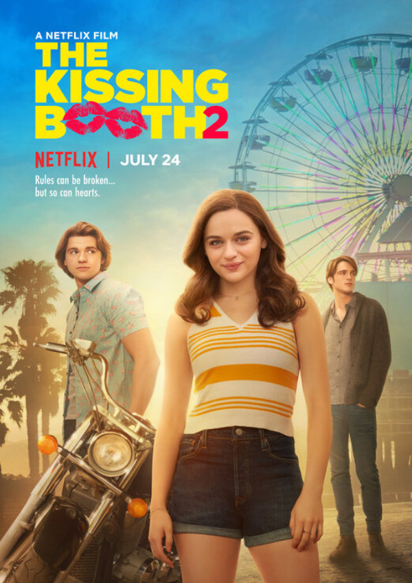 'The Kissing Booth 2' movie poster