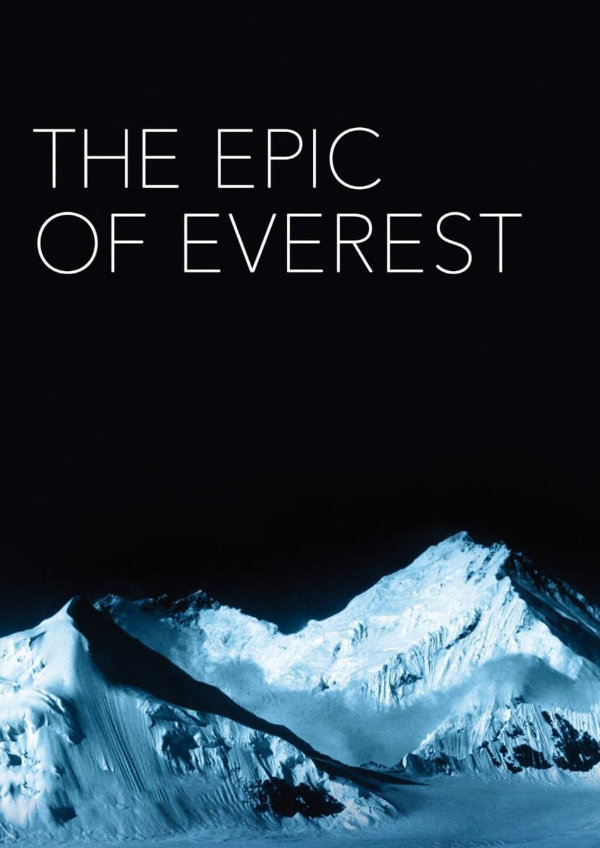 'The Epic of Everest' movie poster