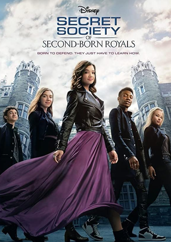 'Secret Society of Second-Born Royals' movie poster