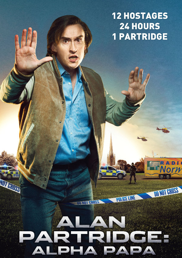 'Alan Partridge: Alpha Papa' movie poster