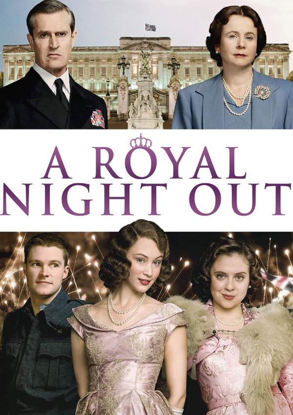 'A Royal Night Out' movie poster