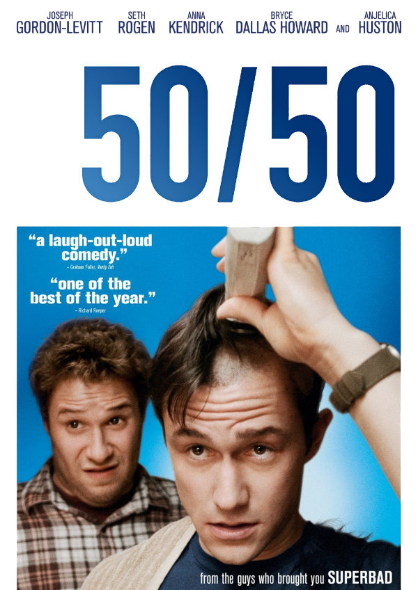 '50/50' movie poster