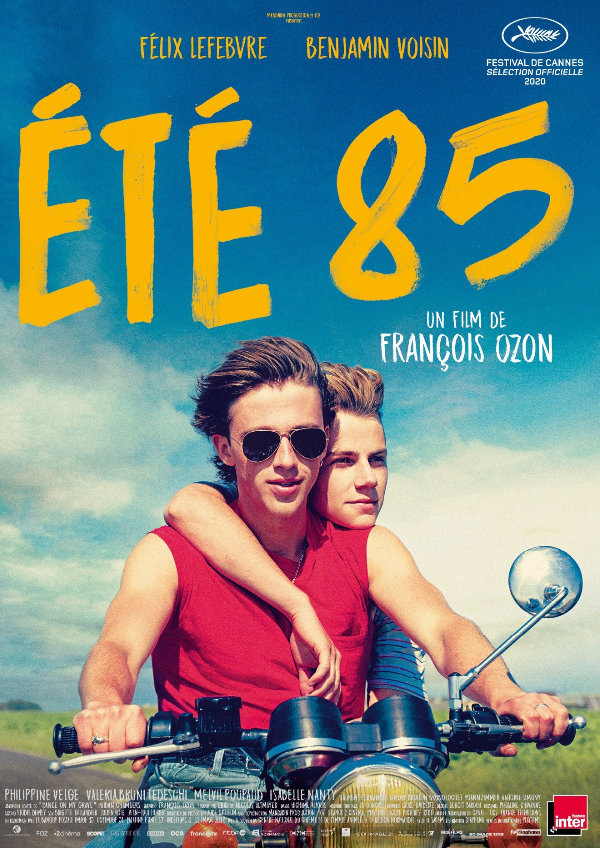'Summer of 85 (Été 85)' movie poster