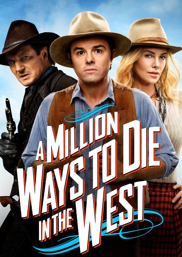 'A Million Ways to Die in the West' movie poster