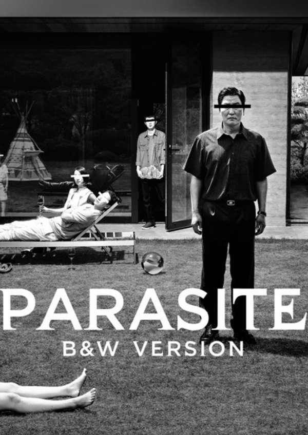 'Parasite: Black-and-White Version' movie poster