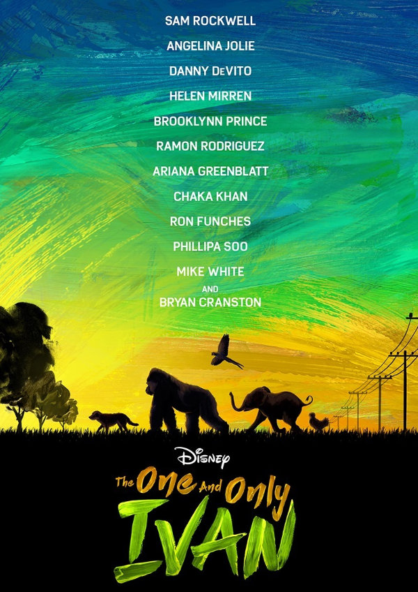 'The One and Only Ivan' movie poster