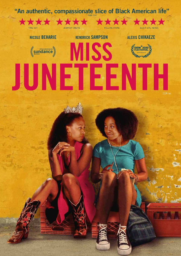 'Miss Juneteenth' movie poster