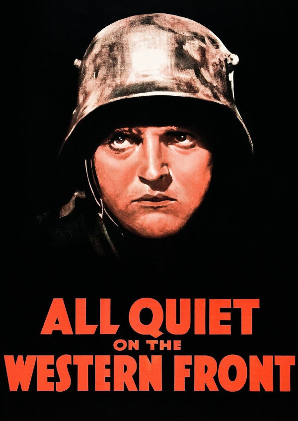 'All Quiet On The Western Front' movie poster