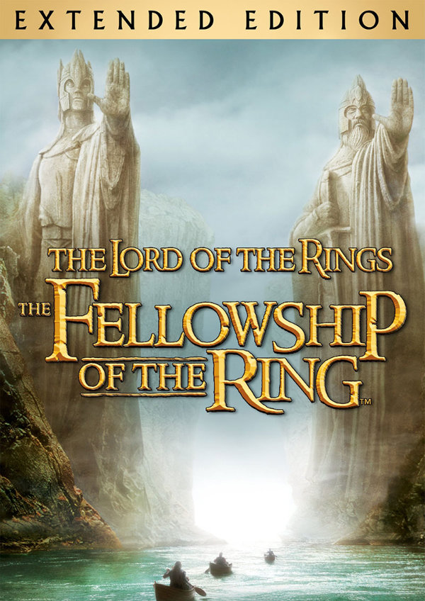 'The Lord of the Rings: The Fellowship of the Ring (Extended Version)' movie poster