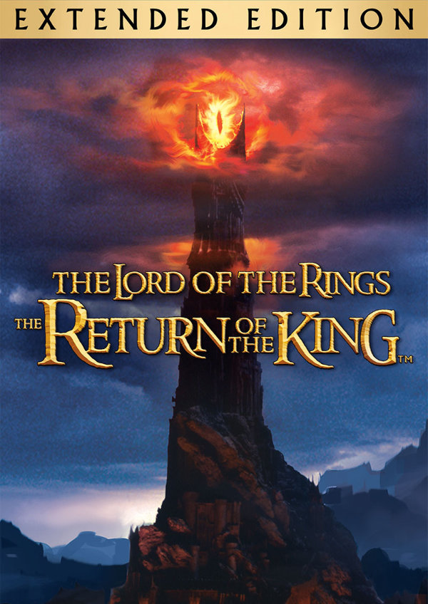 'The Lord of the Rings: The Return of the King (Extended Version)' movie poster
