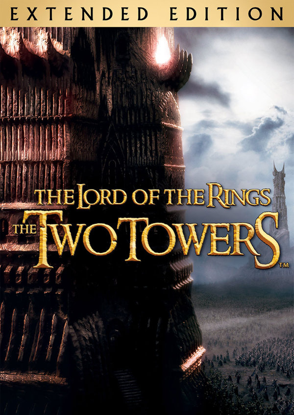 'The Lord Of The Rings: The Two Towers (Extended Version)' movie poster