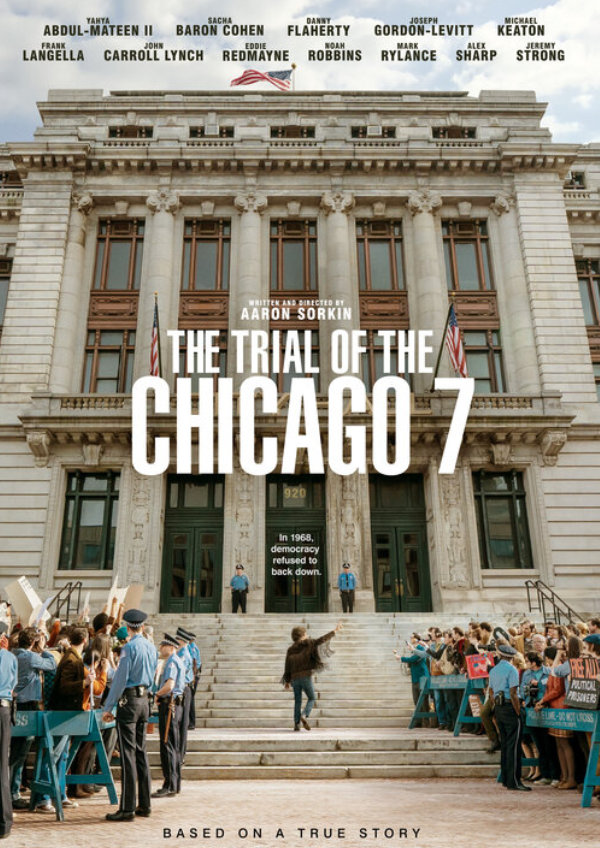 'The Trial of the Chicago 7' movie poster