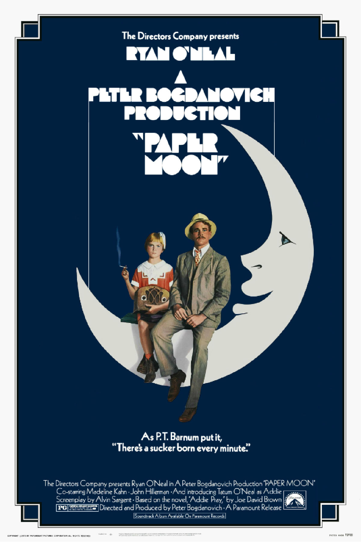 'Paper Moon' movie poster