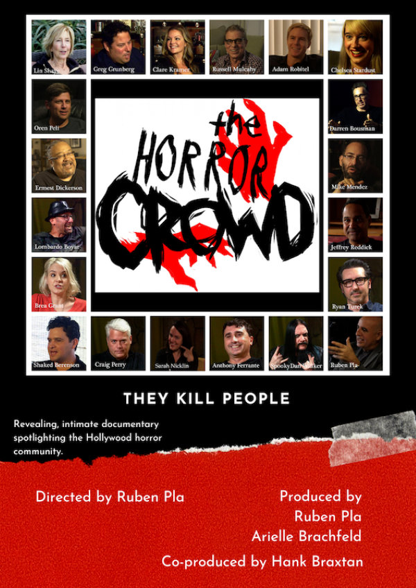 'The Horror Crowd' movie poster
