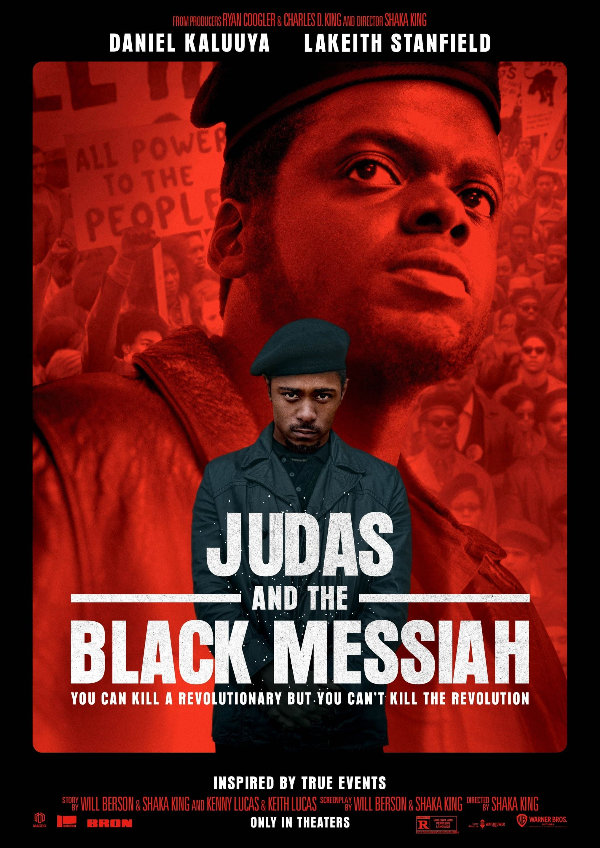 'Judas and the Black Messiah' movie poster