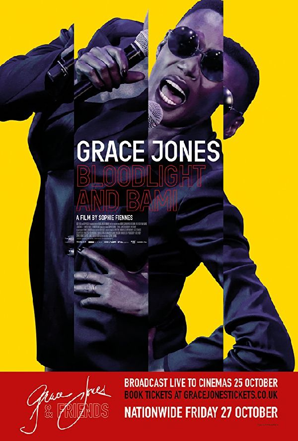 'Grace Jones: Bloodlight and Bami' movie poster