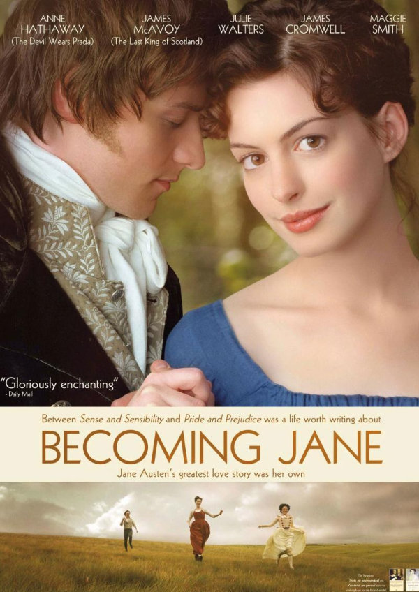 'Becoming Jane' movie poster