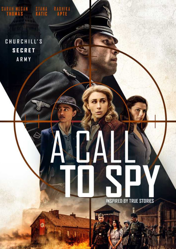 'A Call to Spy' movie poster