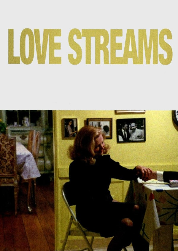 'Love Streams' movie poster