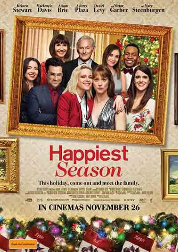 'Happiest Season' movie poster