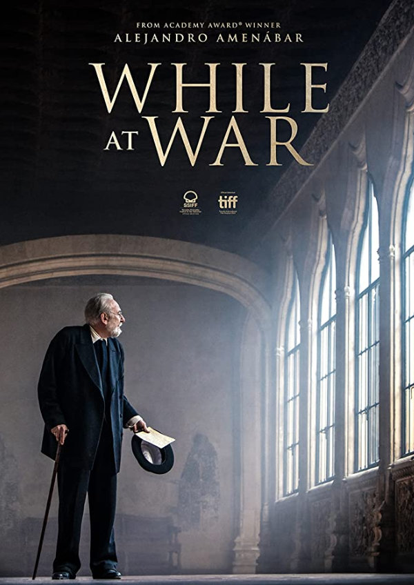 'While at War' movie poster