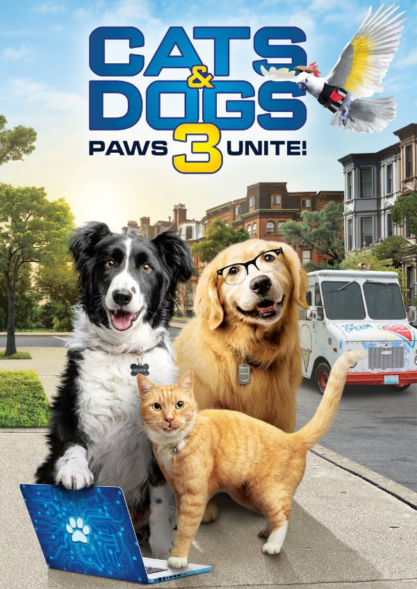 'Cats & Dogs 3: Paws Unite!' movie poster