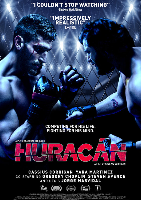 'Huracán' movie poster