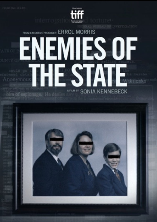 'Enemies of the State' movie poster
