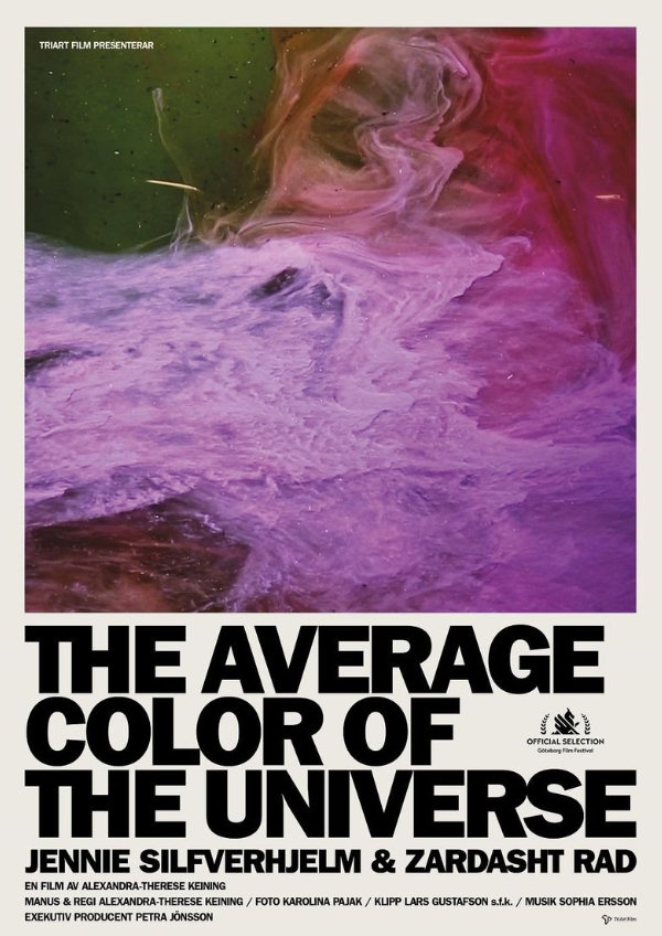 'The Average Color of the Universe' movie poster